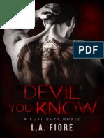 L.A. Fiore - Lost Boys 01 - Devil You Know.pdf