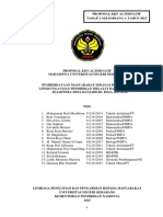 Proposal Kkn Alternatif 2a 2015 Bank Hidroponik