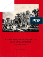 A Photographers History of Fond Du Lac County