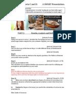 g7 crit c d task sheet sweet assessment part 2