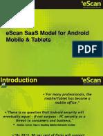 EScan SaaS Mobile Tablet