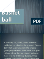 Rules in Basketball
