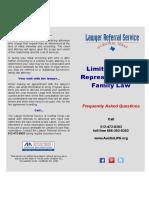 Representation in Family Law - FAQ's