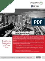 MSc Postgraduate Diploma in Real Estate.2016.pdf