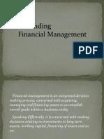 FINANCIAL MGMT BASICS