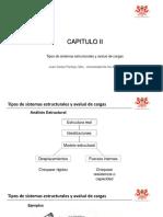 2 - Tipos de Sistemas Estructurales y Avaluo de Cargas-2017A