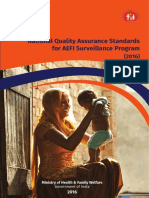 National Quality Assurance Standard AEFI on 22-11-16 B