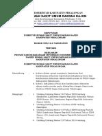 Sk Privasi Dan Kerahasiaan Informasi Dokumen Rekam Medis