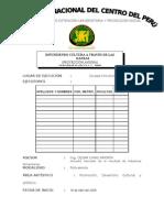 Informe II - 2009I