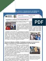 Proyecto BOL/J39 EL ALTO - UNODC Boletín Nº 4