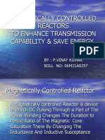 Magnetically Controlled Reactors to Enhance Transmission Capability & Save Energy