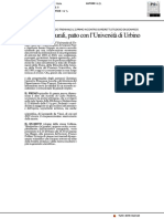 Cesena, iniziative culturali. Patto con l'Università di Urbino - Il Resto del Carlino del 18 febbraio 2018