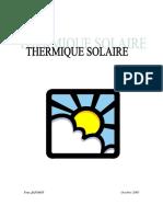 CALCUL THERMIQUE SOLAIRE