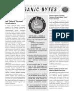 Issue 130 Organic Consumers Association