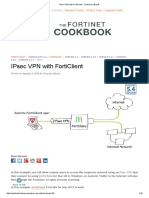 IPsec VPN With FortiClient - Fortinet Cookbook
