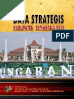 Data Strategis Kabupaten Semarang 2015