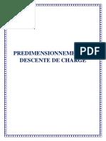 Predimensionnement Des Structure en BA Et Étude de Dalle Corps Creux