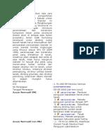 Standar ini menetapkan tata cara penyelidikan dan pengambilan contoh uji tanah dan batuan untuk keperluan teknik.docx