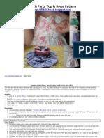 Beach Party Top & Dress Pattern v2[1]