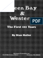 Green Bay and Western the First 111 Years