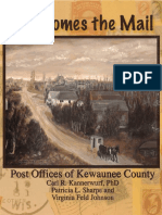 Here Comes the Mail Post Offices of Kewaunee County