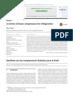 A Review of Linear Compressors for Refri 2017 International Journal of Refri