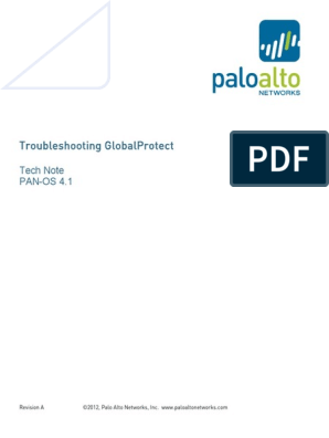 Tech Note - GlobalProtect_Troubleshooting | Public Key