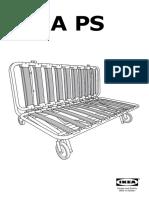 Ikea Ps Cadru Canapea Extensibila Locuri AA 32855 11 Pub