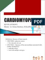 Cardiomyopathy Kevin