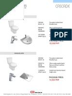 Toilet Package