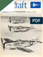 Aircraft Profile 262 Republic p47 n Thunderbolt