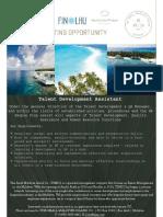 Vacancy Add Poster Talent Development Assistant External