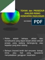 Teknik Dan Prosedur Analisis Resiko Kesehatan Lingkungan