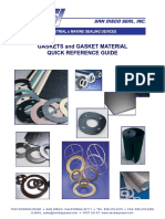 Gaskets Reference