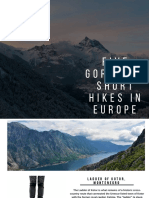 Five Gorgeous Short Hikes in Europe