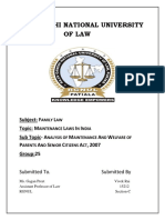 Family Law 15212