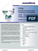 Masibus TT7S_R3F_0913_Isolated and Programmable Temperature Transmitter