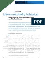 Maximum Availability Architecture