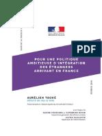 Rapport de Aurélien Taché
