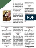 Oraciones de Santa Brigida 12anos