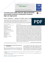 2014-Increased Pond Depth Improves Algal Productivity and Nutrient Removal in Wastewater Treatment High Rate Algal Ponds