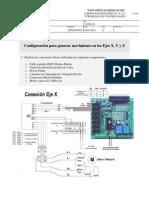 Configuracion cnc