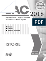 Bac Istorie 2018