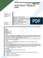 NBR 8196 - Emprego de Escalas