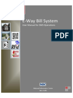 E-way Bill User Manual - SMS System