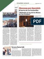 Septiembre 2016 - Participación en Castrifolk III