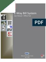E-Way Bill User Manual - Bulk Generation