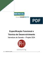 Especificao Funcional e Tcnica-PROJETO DDA