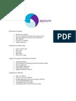 Appium syllabus