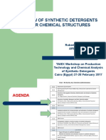 Overview of Synthetic Detergents